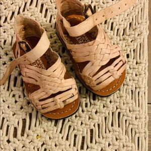 Other - AUTHENTIC MEXICAN SANDALS! Perfect nude color!